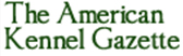 american kennel gazette log